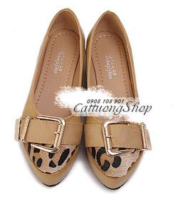 Ảnh số 59: Giày cao gót SL mũi nhọn - Giá: 240.000