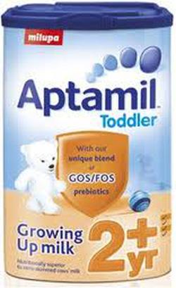 Ảnh số 4: Sữa Aptamil số 2+ - 900g: Dành cho bé từ 2 tuổi trở lên: 450K - Giá: 450.000