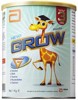 Ảnh số 29: Sữa Grow 1kg : Dành cho Bé từ 3đến 6 tuổi: 330K - Giá: 330.000