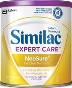 Ảnh số 70: Similac Neosure Infant Formula Powder with Iron, cho bé sinh thiếu tháng nhẹ cân từ 0-12 tháng, hộp giấy: 371g:Giá 450K - Giá: 440.000