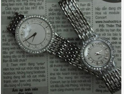Ảnh số 16: Đồng hồ,Piaget cho nữ, nam đ&iacutenh đá s&aacuteng lung linh - Giá: 600.000