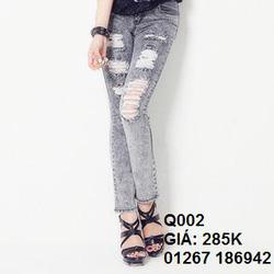 Ảnh số 2: jean skinny q002 - Giá: 285.000