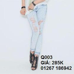 Ảnh số 3: jean skinny q003 - Giá: 285.000