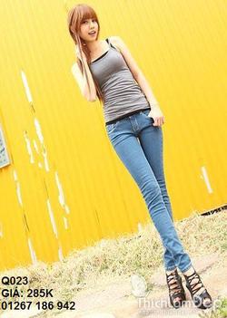 Ảnh số 23: jean skinny q023 - Giá: 285.000