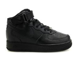 nike air force 1 mid all black vnxk