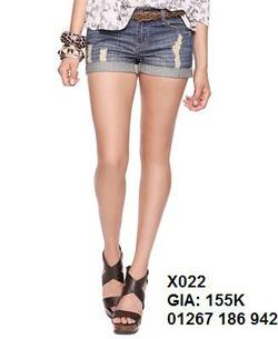 Ảnh số 60: short ngắn nữ x022 - Giá: 155.000
