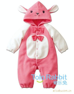 Ảnh số 33: BD505 Body bé gái thỏ hồng 2 nơ xinh xắn cho bé 8-10-12-13 cân (6tháng đến 2,5 tuổi)) - Giá: 230.000