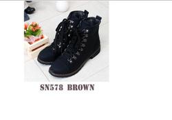 Ảnh số 26: giầy boots hàn quốc - Giá: 590.000