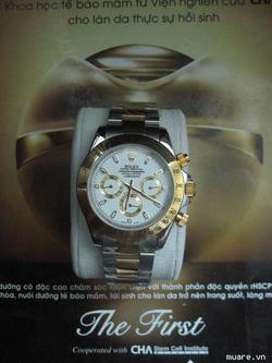 Ảnh số 36: Rolex 6kim Tự động m&aacutey hồng k&ocircng - Giá: 1.100.000