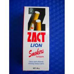 Ảnh số 37: Kem đánh răng Zact 90g dành cho người hút thuốc lá, Thái - Giá: 22.000