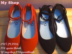 Ảnh số 100: giày da lộn - Giá: 150.000