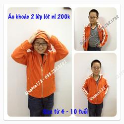 Ảnh số 20: áo khoác 2 lớp - Giá: 200.000