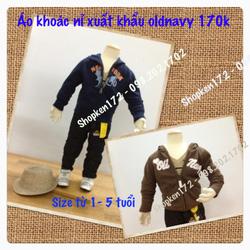 Ảnh số 22: áo khoác nỉ - Giá: 170.000