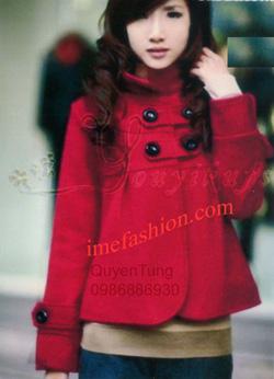 Ảnh số 8: áo choàng dạ nữ - Giá: 800.000