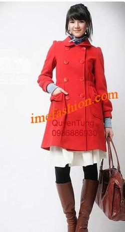 Ảnh số 32: áo choàng dạ nữ - Giá: 1.300.000