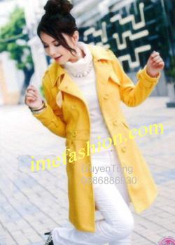 Ảnh số 37: áo choàng dạ nữ - Giá: 1.300.000