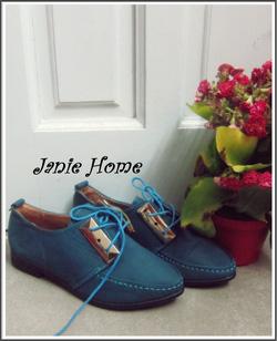 Ảnh số 10: Giày oxford kẹp sắt 3 màu đen, xanh, nâu - Giá: 220.000