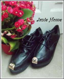 Ảnh số 15: Giày oxford mũi sắt màu đen da mờ - Giá: 240.000