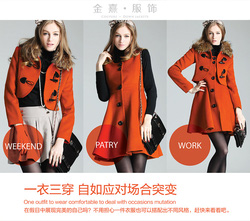 Ảnh số 78: áo dạ set 2 mặc thảnh 3 kiểu khác nhau nhé (đã bán) - Giá: 250.000