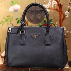 Ảnh số 63: Prada Saffiano 2012 , fake 1 , kèm card, túi vải, hộp giấy như hình.  Size 26 : giá 1tr2   Size 31 : giá 1tr3 - Giá: 1.300.000