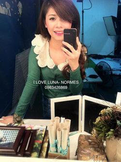Ảnh số 85: áo thun cotton xanh lá cổ bèo iu ném - Giá: 180.000