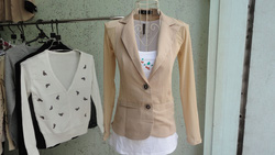 Ảnh số 85: vest ren dài tay - Giá: 350.000
