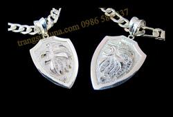 Ảnh số 20: Mặt dây chuyền bạc sư tử - Giá: 620.000