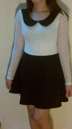 Ảnh số 8: váy màu đen trắng - Giá: 165.000