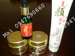 Ảnh số 66: Bộ kem đặc trị nám trắng da tinh dầu MEI YAN LI SHI - Giá: 900.000