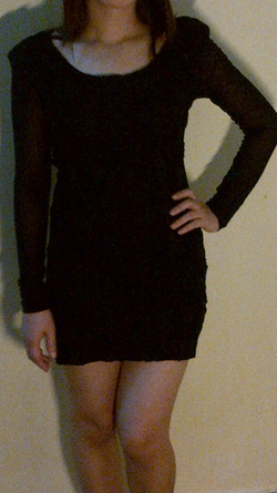 Ảnh số 2: váy đen hoa ren nổi - Giá: 185.000