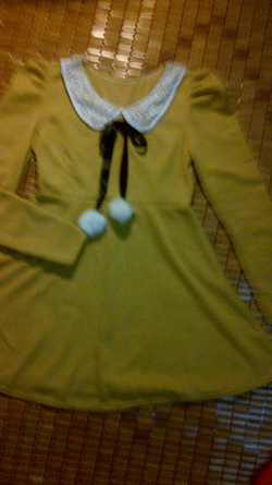Ảnh số 12: váy vàng thắt nơ - Giá: 165.000