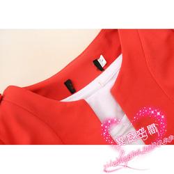 Ảnh số 3: Áo vest màu cam - Giá: 450.000