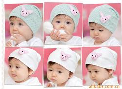 Ảnh số 26: Mũ cotton thỏ - Giá: 40.000