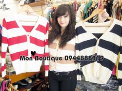 Ảnh số 25: áo len lỗ trái tim - Giá: 160.000