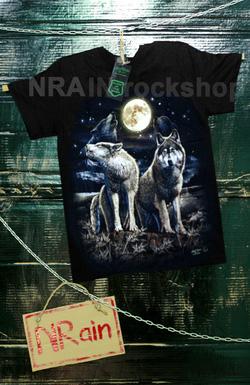 Ảnh số 29: áo phông nam mẫu sói - Giá: 220.000