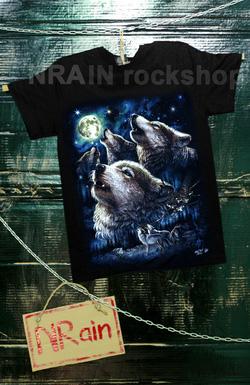 Ảnh số 33: áo phông nam mẫu sói - Giá: 220.000