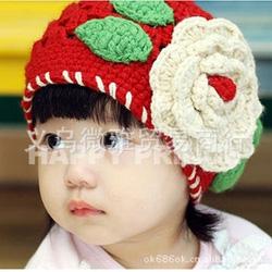 Ảnh số 78: Mũ len hoa - Giá: 45.000
