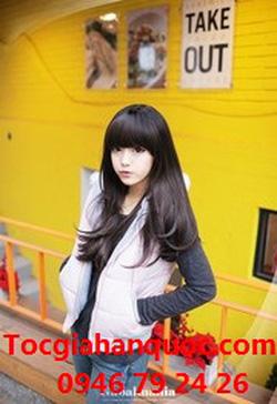 Ảnh số 52: Korea tóc xoăn nhẹ mái bằng, chéo - Giá: 800.000