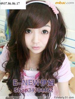 Ảnh số 67: Korea tóc xoăn nhẹ - Giá: 700.000