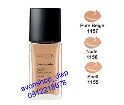 Ảnh số 18: Phấn nền Avon Ideal Shade SPF 10 (dạng lỏng) - Giá: 129.000