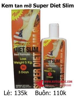 Ảnh số 68: Kem tan mỡ Super Diet Slim - Giá: 39.949.249