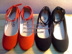 Ảnh số 3: Giày nhung đế bệt và 3 phân. Size: 35 - 40. Giá : 150k/đôi - Giá: 150.000