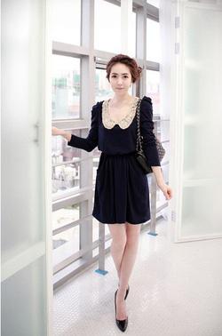 Ảnh số 20: Váy thu cổ ren (RX90) - Giá: 185.000