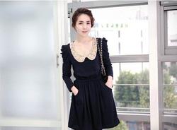 Ảnh số 23: Váy thu cổ ren (RX90) - Giá: 185.000