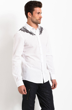 Ảnh số 3: Armani Exchange EMBROIDERED WINGS SHIRT - Giá: 1.200.000