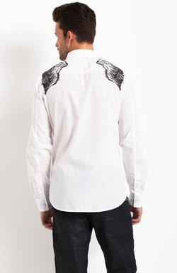 Ảnh số 4: Armani Exchange EMBROIDERED WINGS SHIRT - Giá: 1.200.000