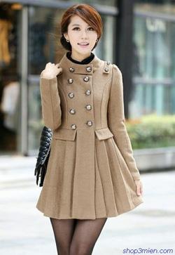 Ảnh số 37: Áo khoác nữ dáng dài Hàn Quốc 2014: AC090 - Giá: 1.300.000