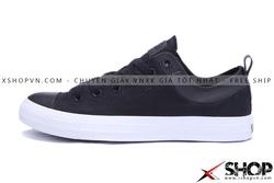 Ảnh số 54: Giày Converse Kaki Viền Da đen thấp cổ - Giá: 449.000