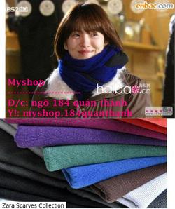 Ảnh số 42: Khăn Zara 90k (nhiều màu) làm đc khăn đôi nhé - Giá: 90.000