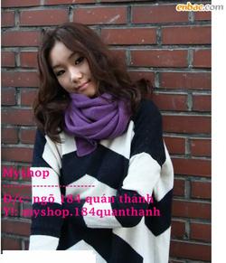 Ảnh số 43: Khăn Zara 90k (nhiều màu) làm đc khăn đôi nhé - Giá: 90.000